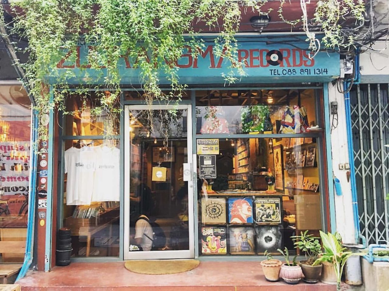 zudrangma record store bangkok thailand