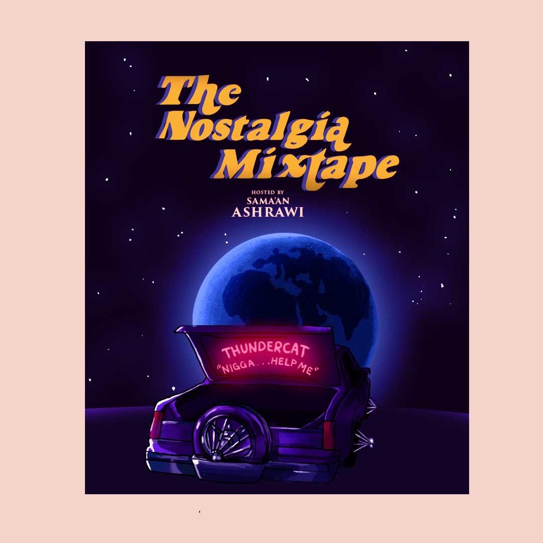 Thundercat interview with Sama'an Ashrawi on The Nostalgia Mixtape Nataly Menjivar