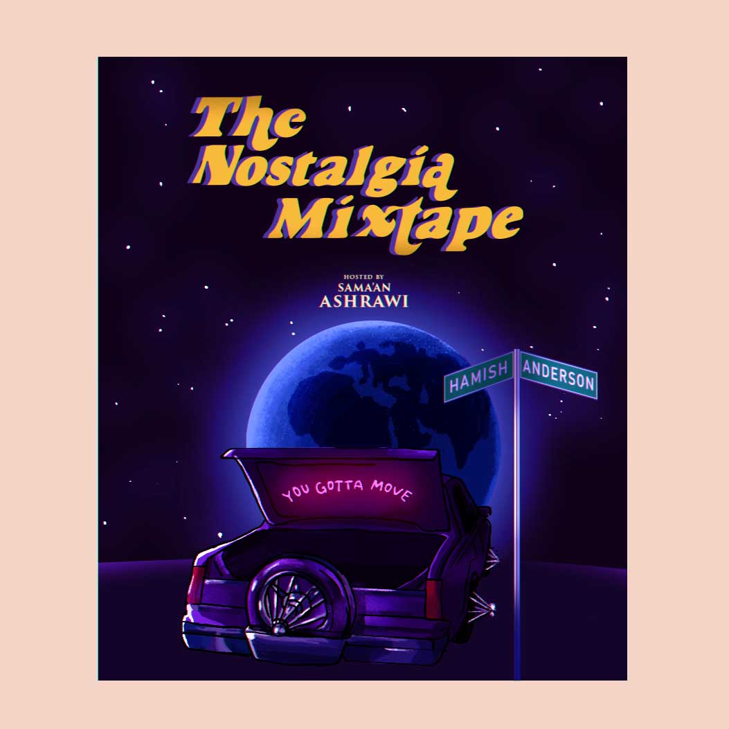 Hamish Anderson interview Nostalgia Mixtape Sama'an Ashrawi